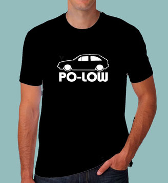 VW polo tuning t-Shirt,fox,86c