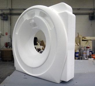 TAC Tomografo Axila Computerizado, Talla de la forma, generado a partir de fotografias mediante modelado 3D