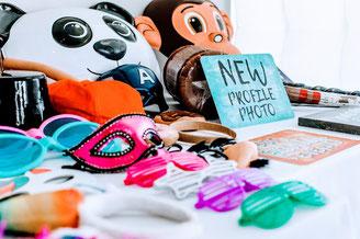 Requisiten und Masken für Darmstadt