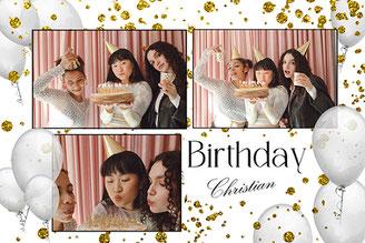 Hamburg - Fotoboxmomente mit drei Frauen