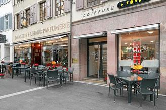 Konditorei, Café, Restaurant und Strassencafé in Liestal