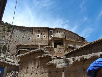 Wandern Im Tal der Glücklichen in Marokko