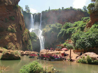 Wasserfall in Marokko