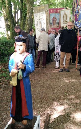 Saint Yves, au moulin aux moines, peu avant le début de la célébration