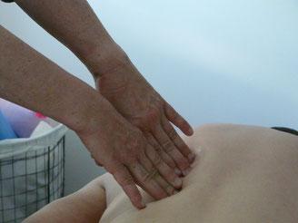 Myoreflextherapie Behandlung Patient