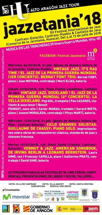 jazzetania 2018 canfranc huesca