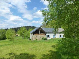 Gite en Pays de Neste, Nistos, Pyrénées Centrales; forêts et paturages