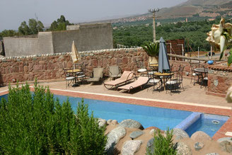 maison d'hôtes et piscine