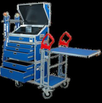 mobilmarie Werkzeugwagen für Profis