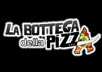 Logo la bottega della pizza, la bottega della pizza, chaussée de Bruxelles, Casteau, Soignies, à proximité de Mons, Jurbise, Ath, Saint-Denis, Maisières, Nimy, Hainaut, Belgique