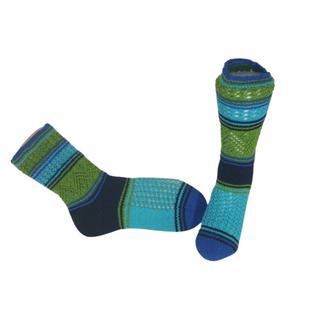 """Handgestrickte Socken """"Wassergeist"""""""