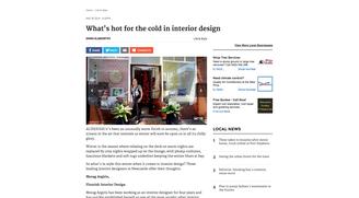 Herald Article Flourish Interior Design May 2013