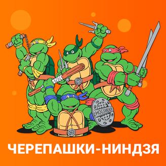 Черепашки Ниндзя аниматоры на детском празднике