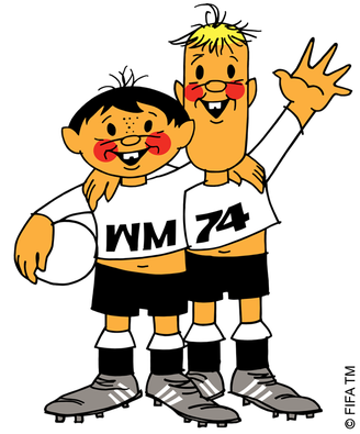 Mascots 1974 Tip and Tap