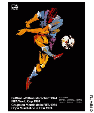 Poster 1974 West Germany