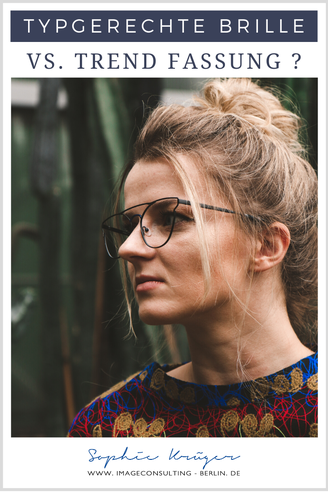 """Solltest du dir eins dieser schicken, trendigen Modelle aussuchen, oder doch lieber eine sehr unauffällige, auf jeden Fall typgerechte """"auf Nummer sicher""""-Brille kaufen?"""