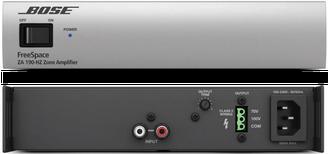 amplificadores, bose za190, amplificadores para instalciones