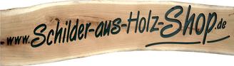 Holzschilder Shop