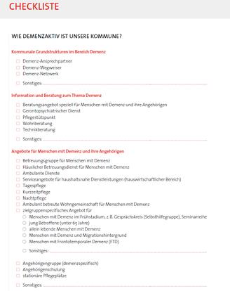 Was Kommunen Tun Können Netzwerk Demenz Landkreis Biberach