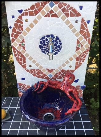 Mosaik Waschtisch