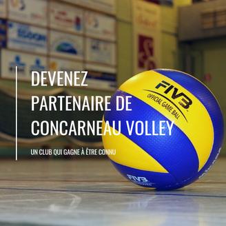 DEVENIR PARTENAIRE DE CONCARNEAU VOLLEY