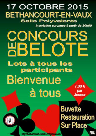 Affiche : Comité des Fêtes / Béthancourt-en-vaux.