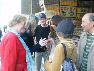 鎌倉外国人観光ガイドイベント(ユリシーズ英語・英会話)
