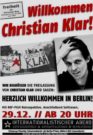 Christian Klar (1952 - )