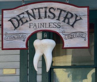 Zahn ohne Schmerzen