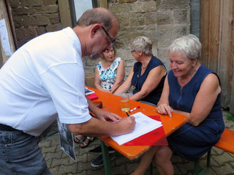 Pfarrfest Sickingen: So einfach wird man Mitglied im Heimatkreis