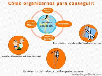 Organizarse para disfrutar hábitos saludables y controlar todos los aspectos de la salud - www.aorganizarte.com