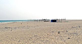 久米島唯一の自分の写真 ハテノ浜