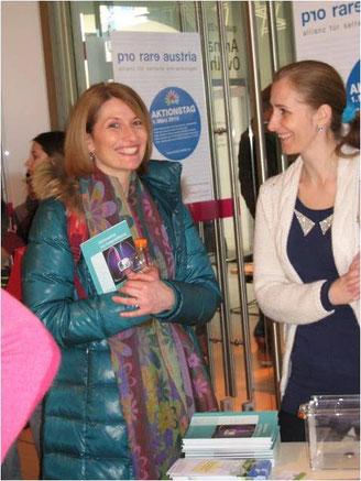 IPF Nurse im Gespräch am rare disease day 2014