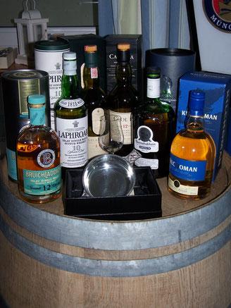 Die Whiskys unseres Islay-Tastings