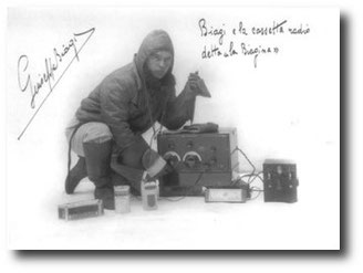 Giuseppe Biagi sul pack