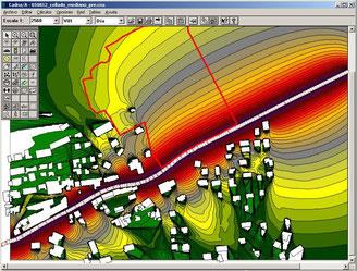 CadnaA, software de ruido, estudio de ruido