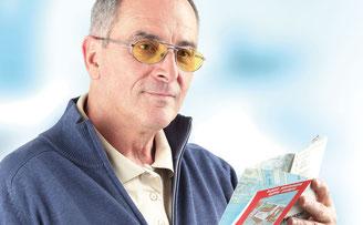Spezial Brillengläser für altersbedingte Makuladegeneration