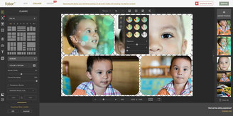 Fotor Collage is free and has very nice tools