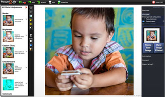 Picture2Life a very simple user interface but fully loaded of photo editing tools