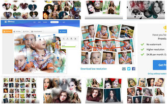 Photovisi a collage specialized website truly amazing