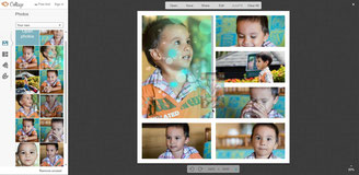 Picmonkey collage is an interesting collage editor