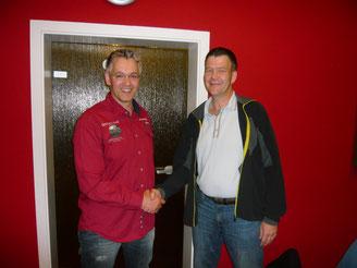 Sören übergibt die Spartenleitung an Peter Simon