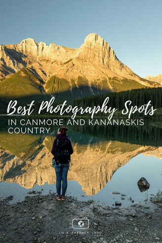 Capture postcard worthy photos on your trip through the Canadian Rockies. Find out what are the best photography spots in Canmore and Kananaskis Country.