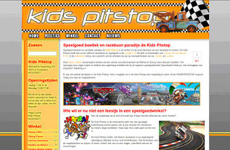 Kids Pitstop website 2011-2015
