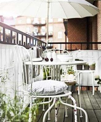 décoration terrasse, décoration balcon