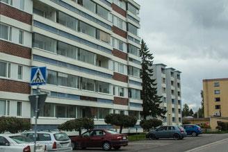 Plattenbauten in Karelien