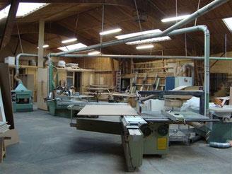 Atelier - Menuiserie Deslandes
