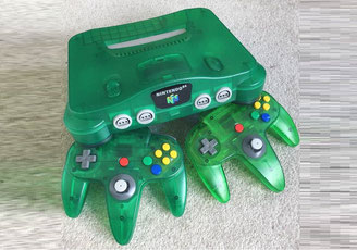 Nintendo 64 Console Variations - The Database for all ...