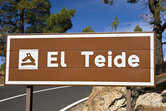 """Von Süden über Villaflor auf der Straße """"TF 21"""" kommend erreichen wir den Nationalpark """"El Teide""""."""