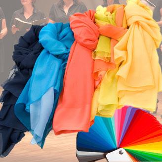 Chorschals in allen Farben lieferbar !